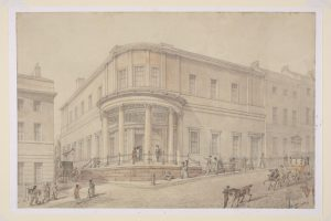 The Bristol Institution in 1825, attributed to Alfred Montague (about 1811-1887)