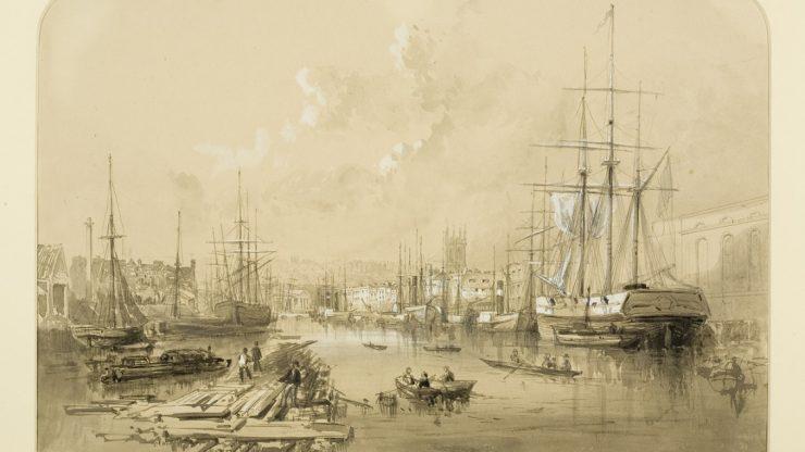 Late lunch talk: Bristol docks and cholera