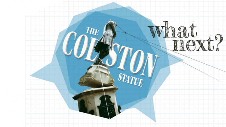 The Colston Statue: What next logo