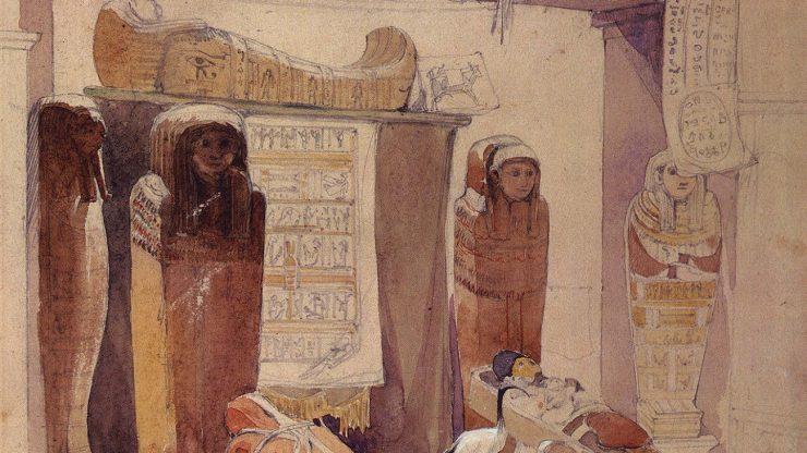 Tea-time talk: Egypt on Avon