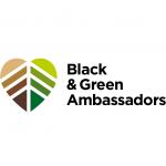 Black and Green Ambassadors logo